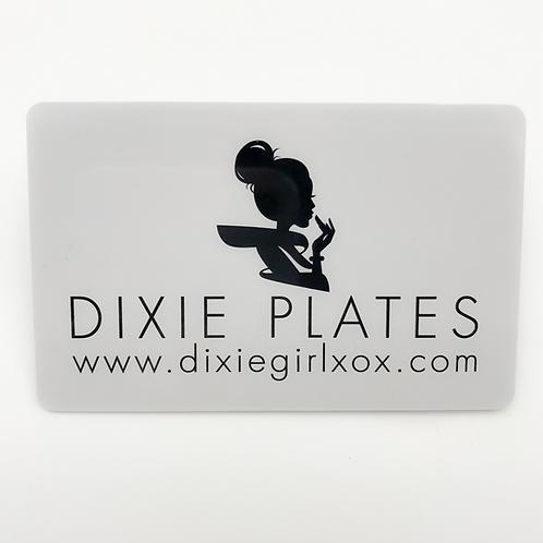 Dixie Plates Scraper