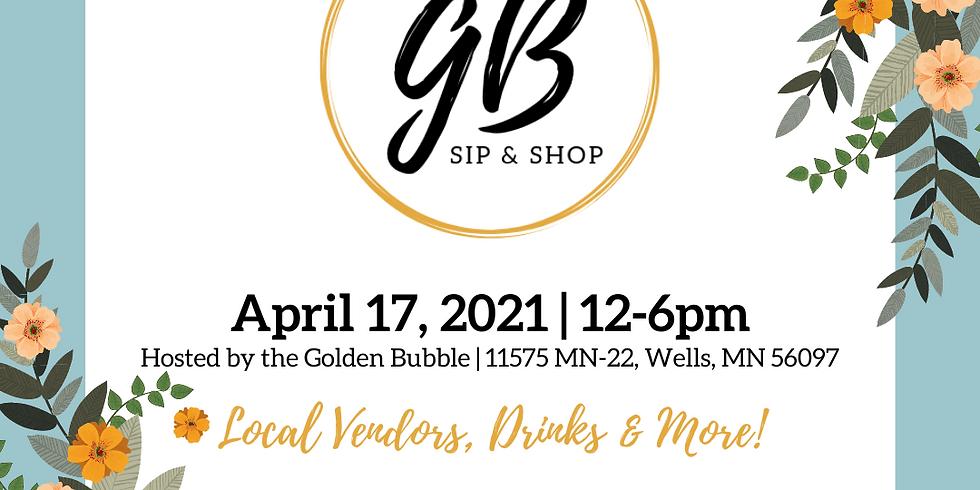 Golden Bubble Spring Sip & Shop