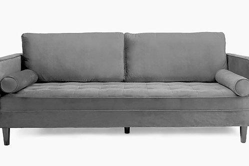 Velvet Sofa Grey