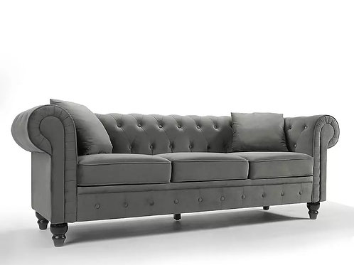 Chesterfield Velvet Grey
