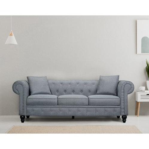 Chesterfield Linen Light Grey