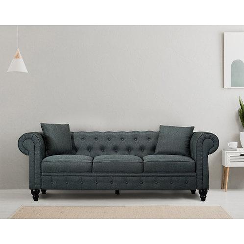 Chesterfield Linen Dark Grey