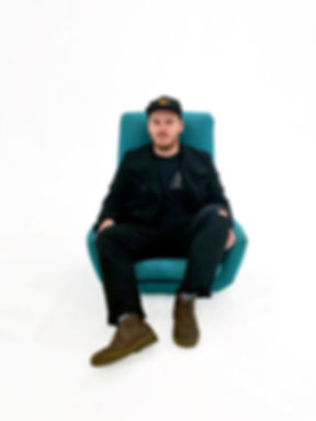 Bobby on a Chair.JPG