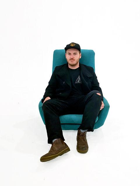 Bobby on a Chair.JPG