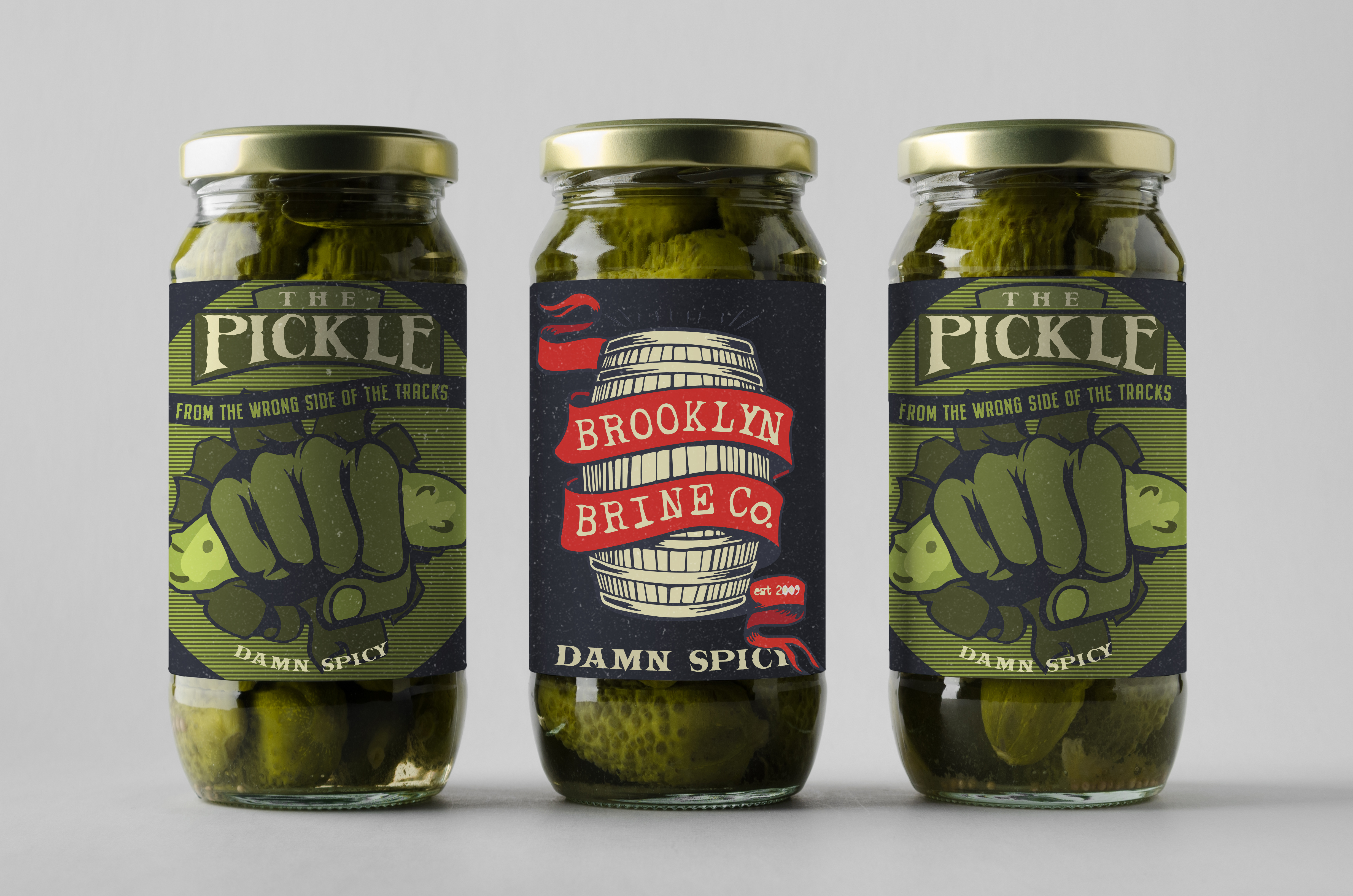 Pickle Jars One