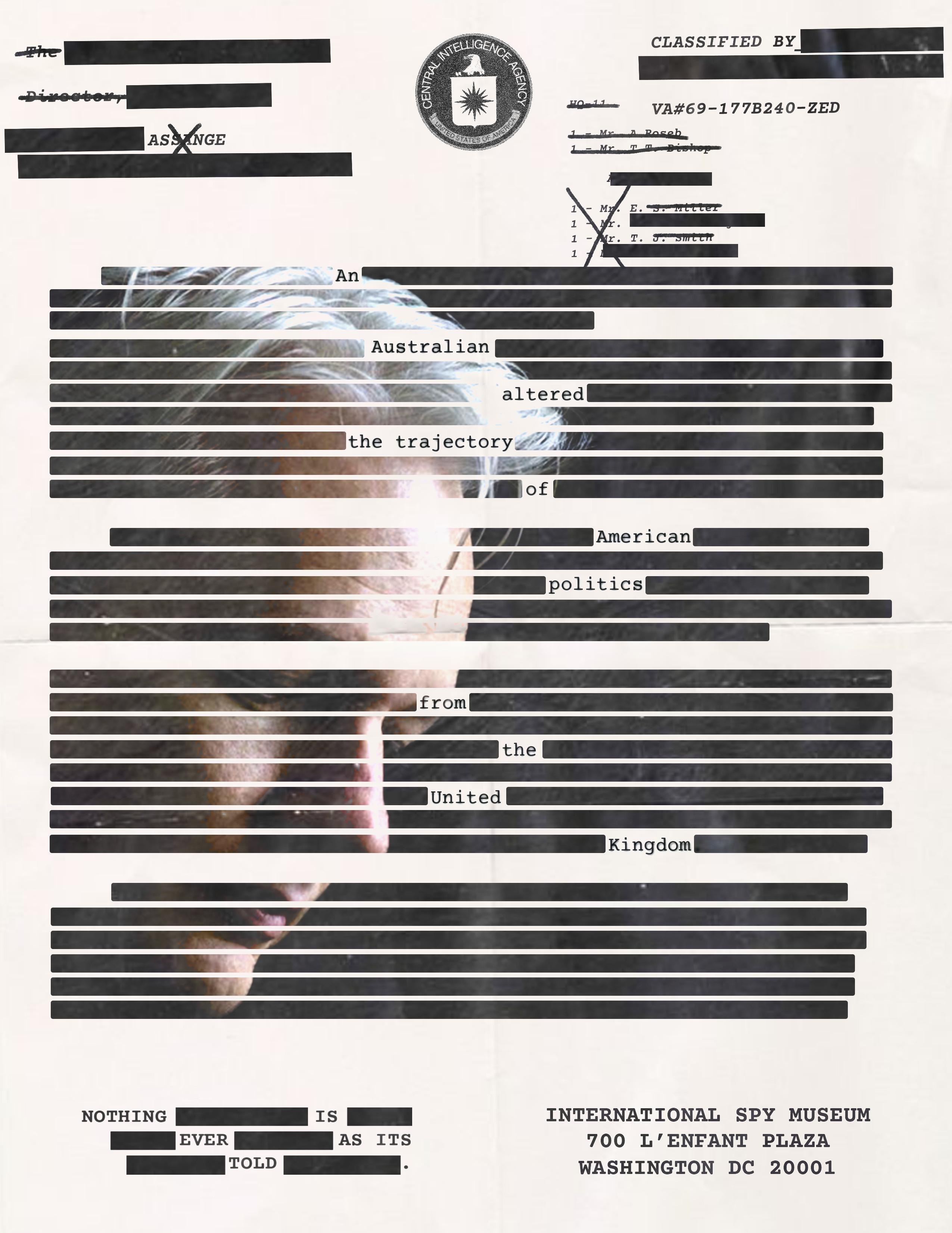 ISP Assange Poster