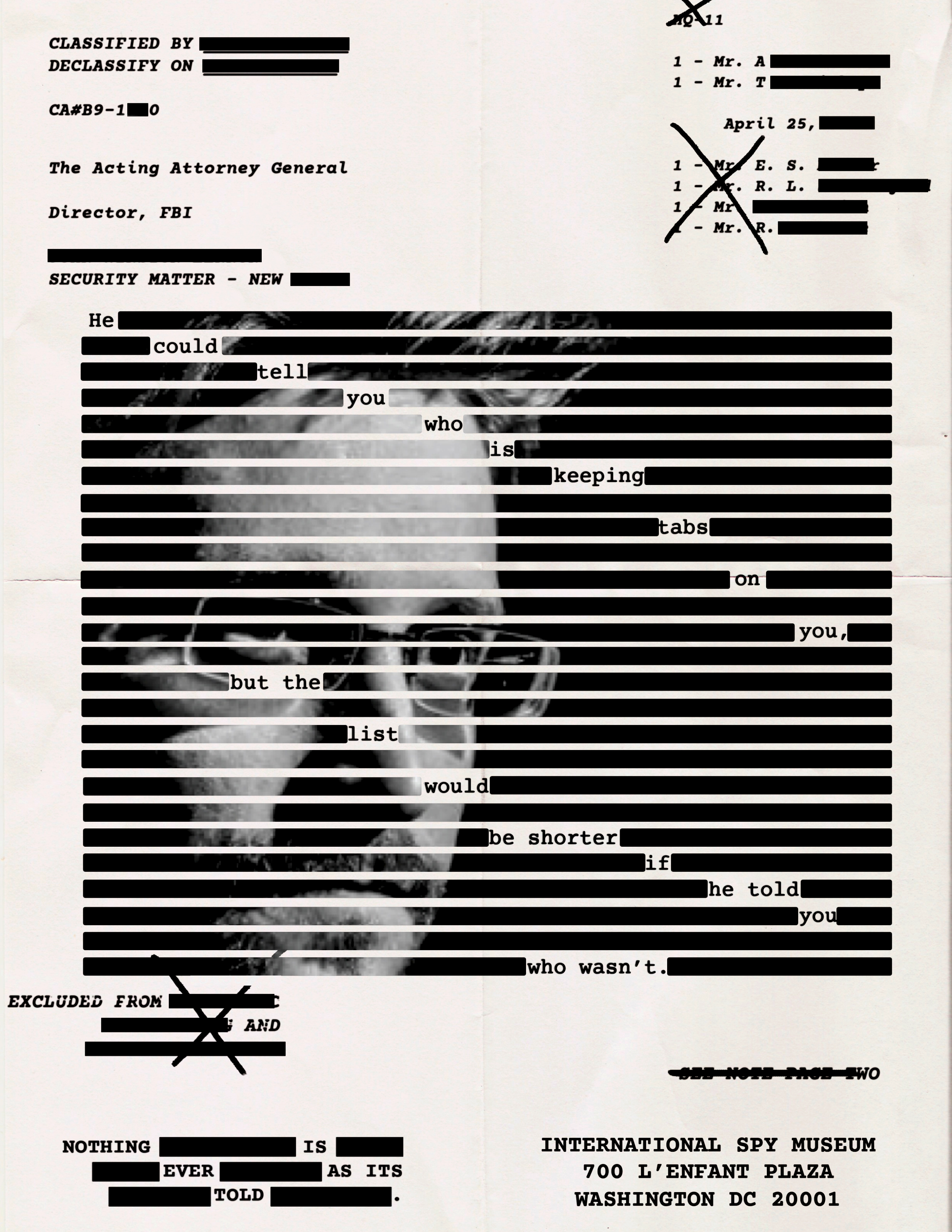 ISP Snowden Poster