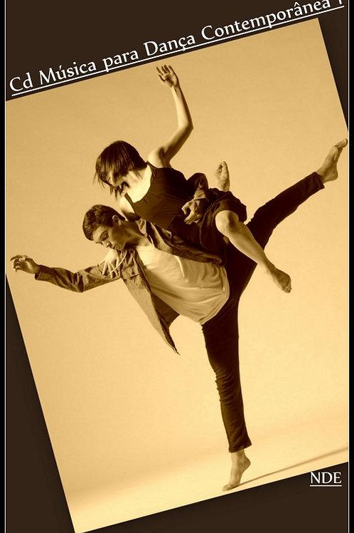 Cd Música para Dança Contemporânea 1