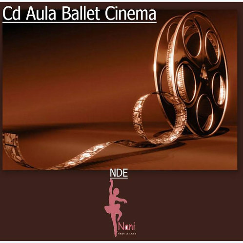 Cd Aula de Ballet Cinema