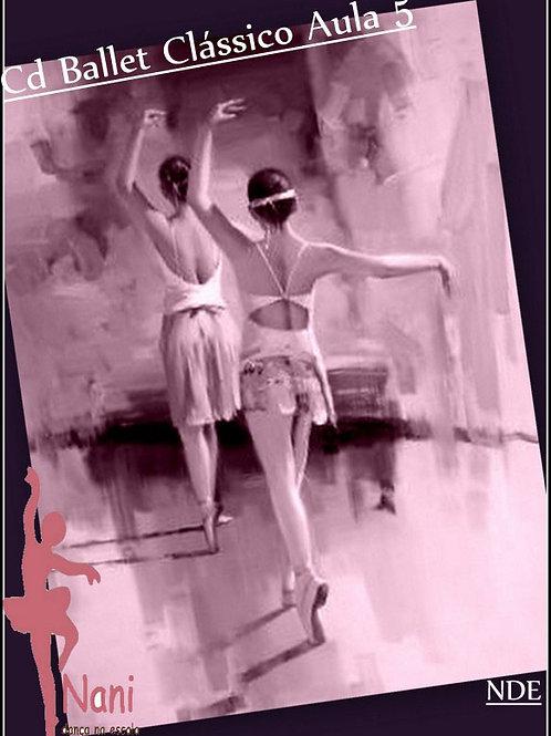 Coleção Cds Ballet Clássico Aula