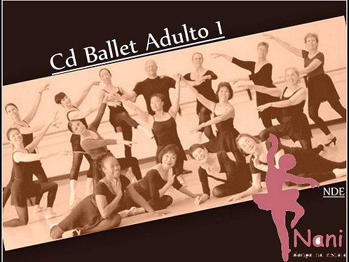 Coleção Cds Ballet Adulto Vol I, II e III