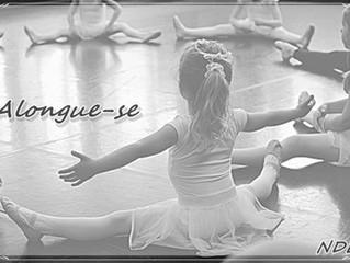 Atividades de Alongamento para o Baby Class Ballet