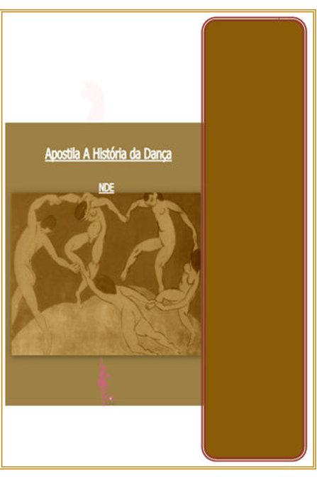 Apostila A História Dança