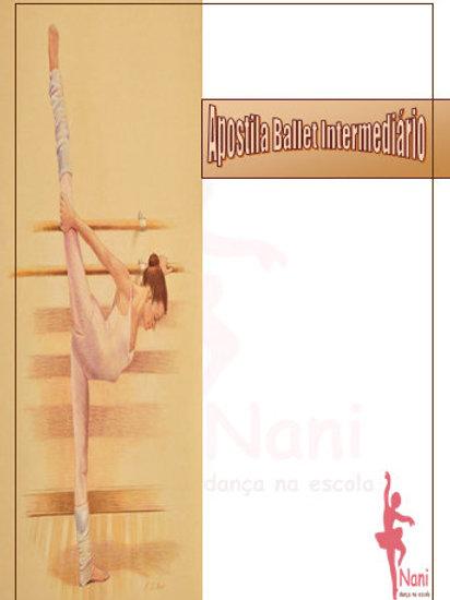 Apostila Ballet Intermediário + Cd
