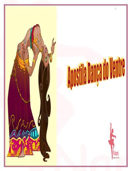 Apostila Dança do Ventre + Cd