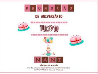 Promoção de Aniversário Tudo 10