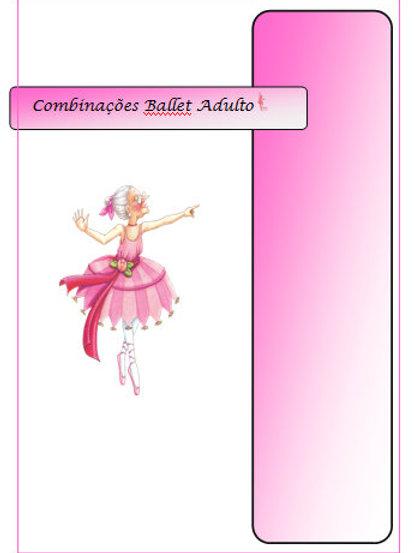 Apostila Combinações Ballet Adulto