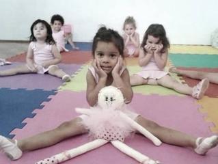 O Alongamento no Baby Class Ballet