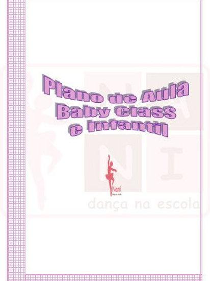 Plano de Aula para Baby Class