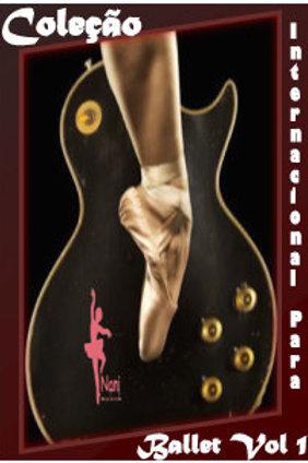 Coleção Cds Músicas Internacionais Anos 80 e 90 para Aula de Ballet Vol I