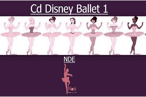 Cd Disney Ballet para Aula 1