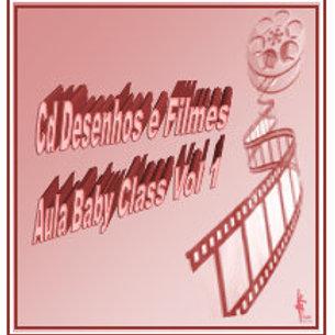 Cds Desenhos e Filmes Aula Baby Class