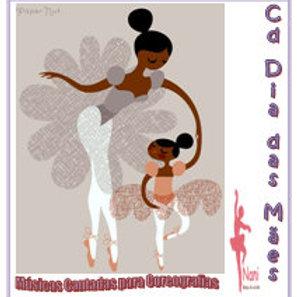 Cd Dia das Mães Músicas Cantadas para Coreografias