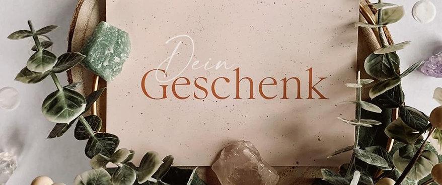 """Gutschein """"Dein Geschenk"""" Puder 122€"""