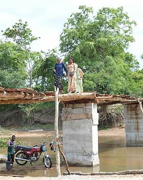 Bridge To Native Bush Tribe Camp