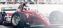 Jan Magnussen i Ferrari F1