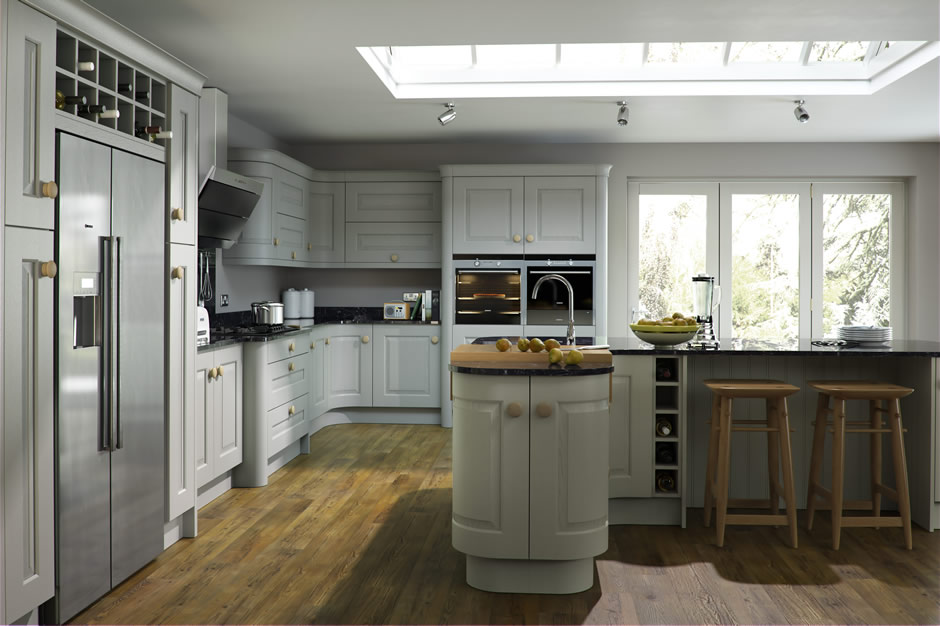 Stamford ivory painted kitchen
