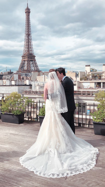 Secret rooftop in Paris
