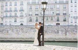 Elopement in Paris by the Seine