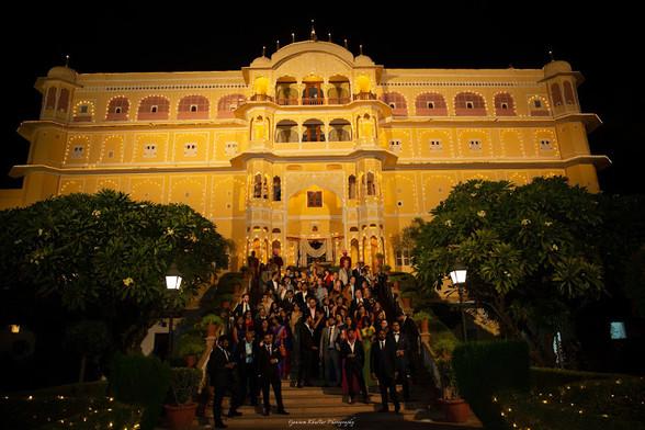 Samode Palace wedding