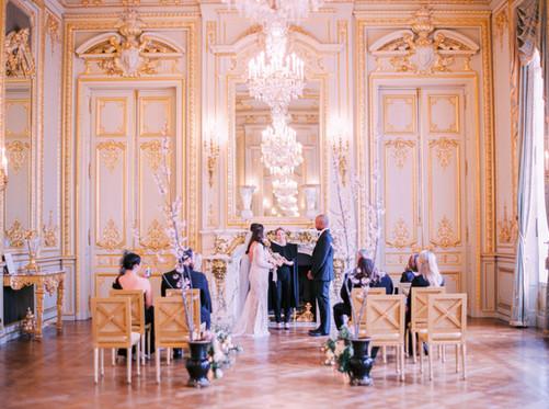 Wedding at Shangri la Paris