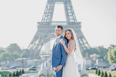 elopement by the Eiffel Tower