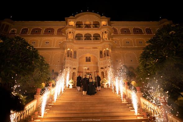 Samode palace wedding ceremony