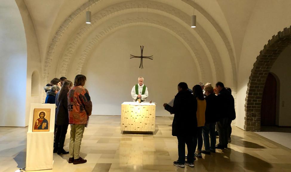 Rencontre au monastère ND d'Hurtebise en Belgique (6)
