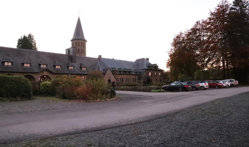 Rencontre au monastère ND d'Hurtebise en Belgique (1)