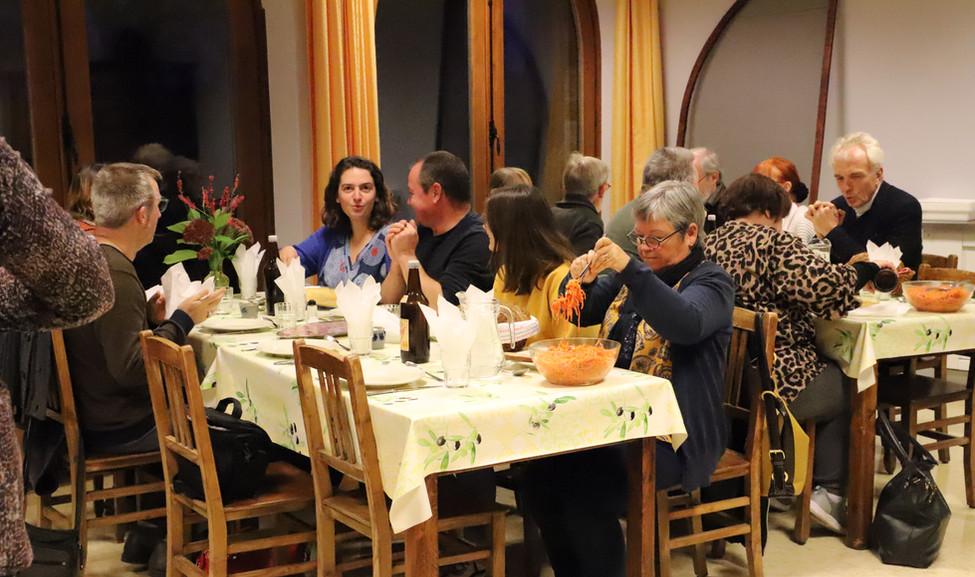 Rencontre au monastère ND d'Hurtebise en Belgique (3)