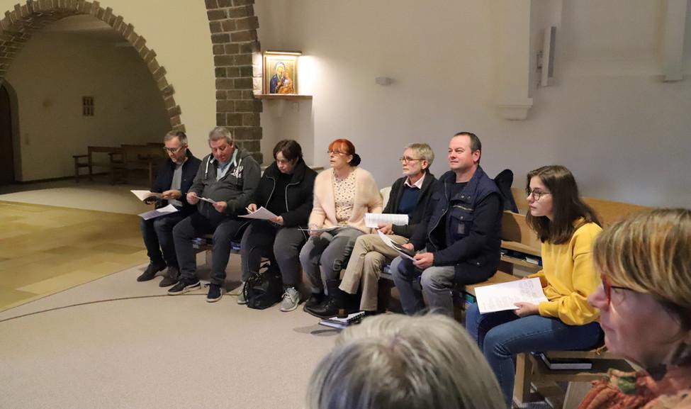Rencontre au monastère ND d'Hurtebise en Belgique (7)