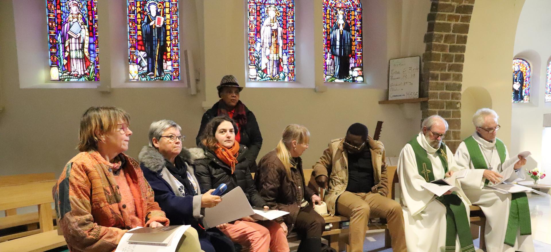 Rencontre au monastère ND d'Hurtebise en Belgique (5)