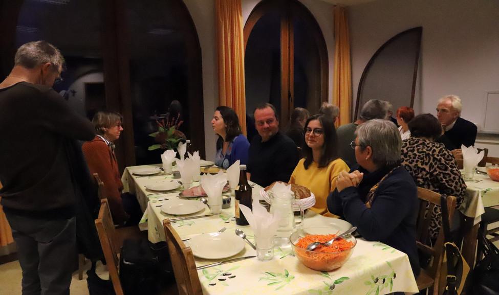 Rencontre au monastère ND d'Hurtebise en Belgique (4)