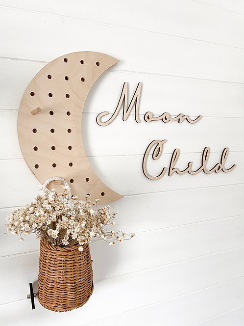 Moon Child Wall Art - Pine and Pear co.