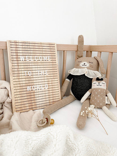 Wooden Letter Board - Pine and Pear co.