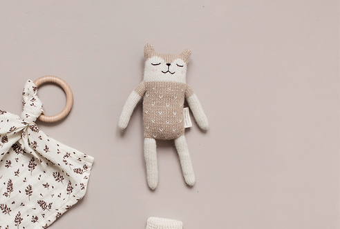 FAWN KNIT TOY - SAND - MAIN SAUVAGE