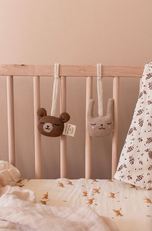 Main Sauvage Teddy Hanging Toy