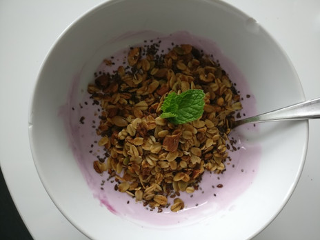 GOODFood: Power Seed Maple Coconut Almond Granola