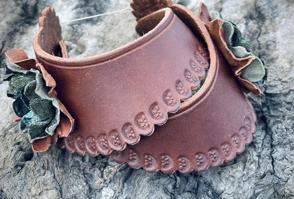 Australian Leather Spur Straps