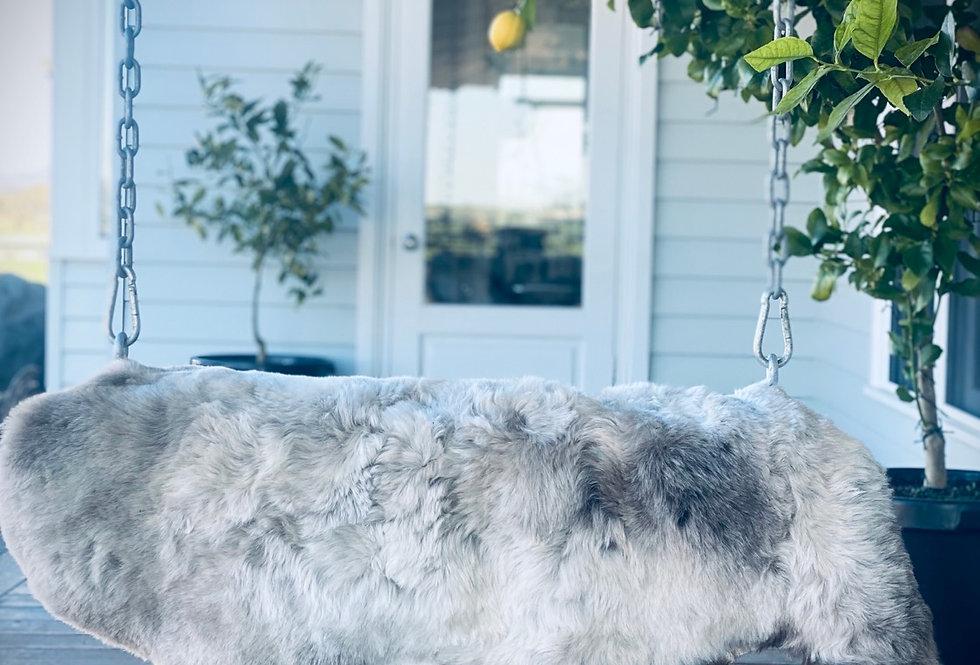 Icelandic  Shorn Sheep skin Dark Edges